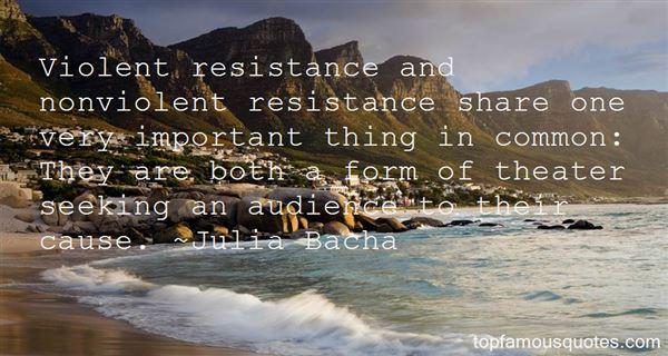 Quotes About Nonviolent Resistance