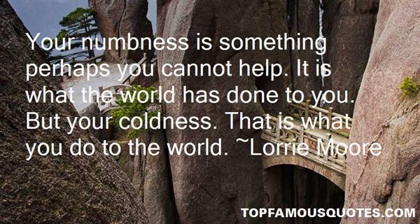 Quotes About Numbness