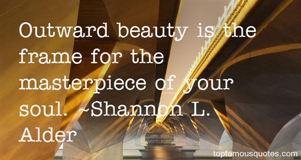 Quotes About Outward Beauty