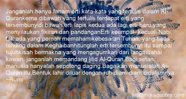 Quotes About Pandangan