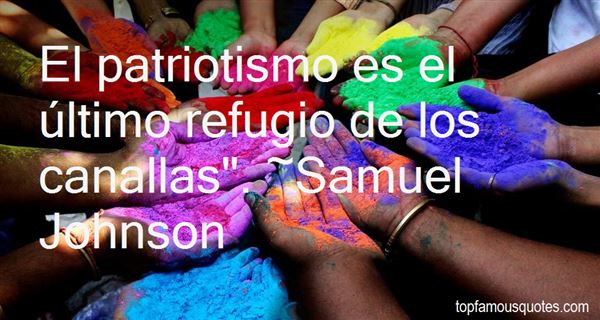 Quotes About Patriotismo