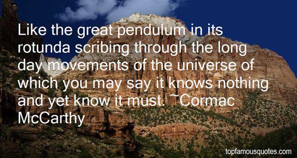 Quotes About Pendulum