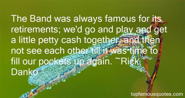 Quotes About Pockets