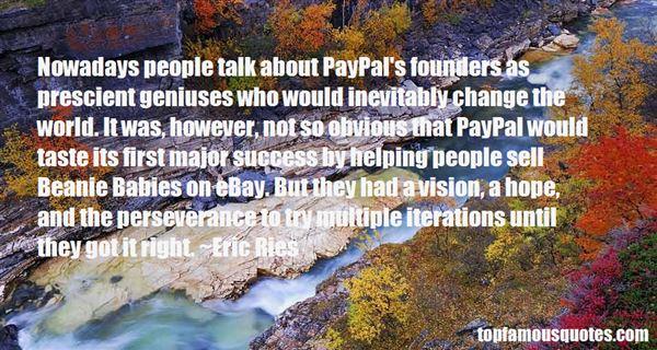Quotes About Prescient