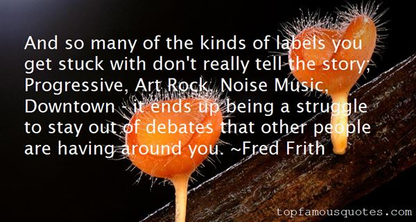 Quotes About Progressive Music
