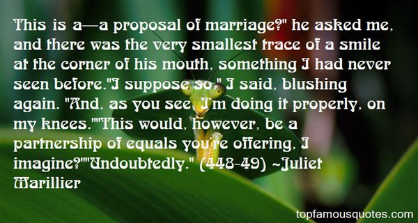 Quotes About Proposal Ring