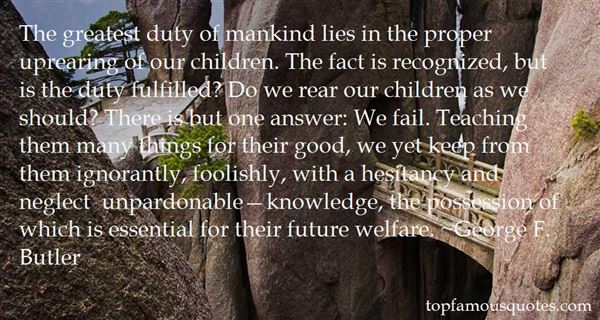 Quotes About Rearing A Child