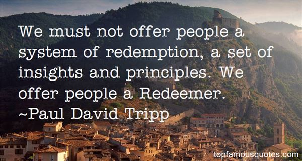 Quotes About Redeemer