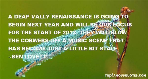 Renaissance Music Quotes: Best 2 Famous Quotes About