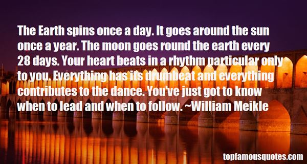 Quotes About Rhythm And Dance
