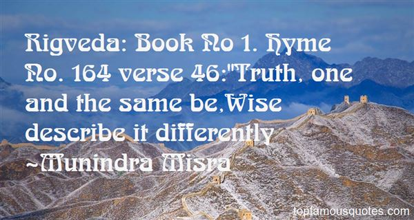 Quotes About Rigveda