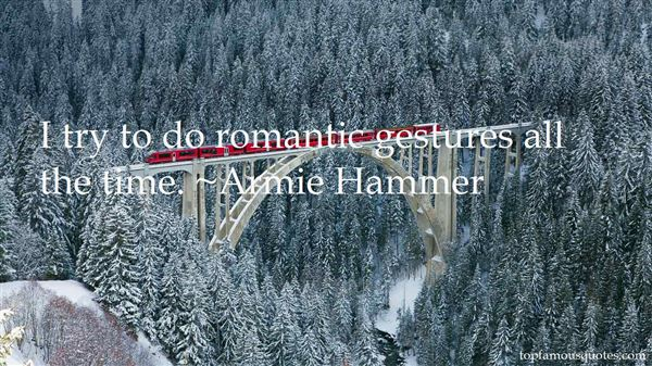 Quotes About Romantic Gestures