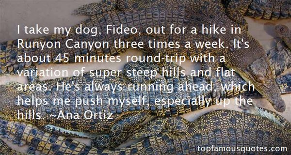 Quotes About Running Hills
