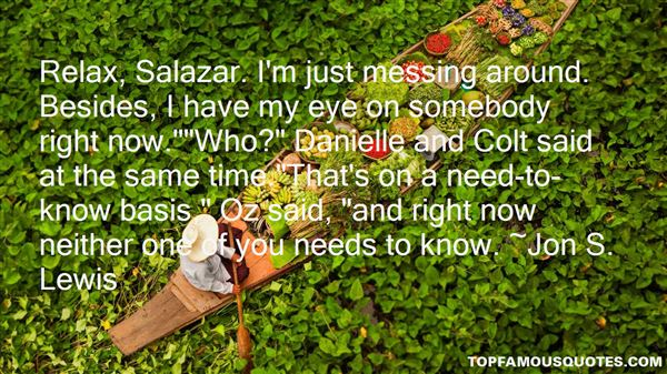 Quotes About Salazar