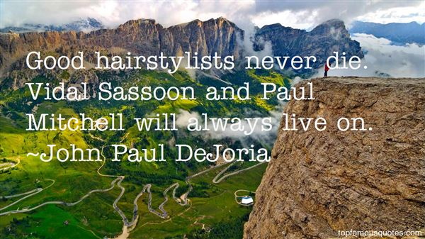 Quotes About Sassoon