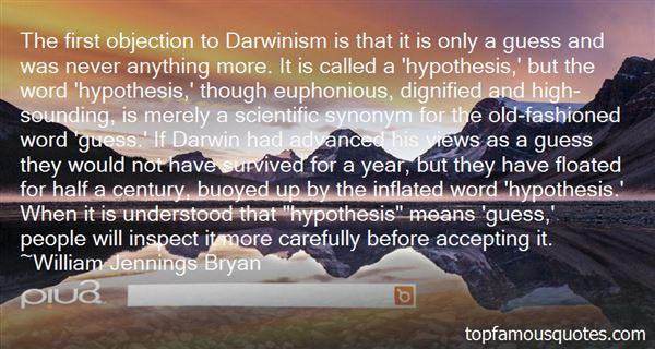 Quotes About Scientific Hypothesis