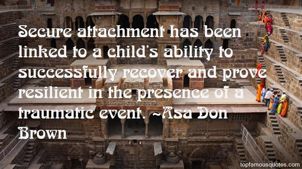 Quotes About Secure Attachment