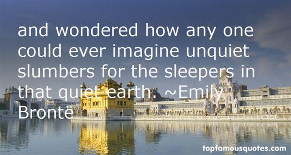 Quotes About Sleepers