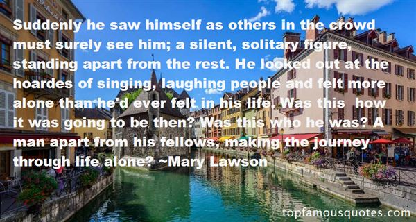 Quotes About Solitary