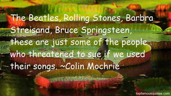 Quotes About Springsteen