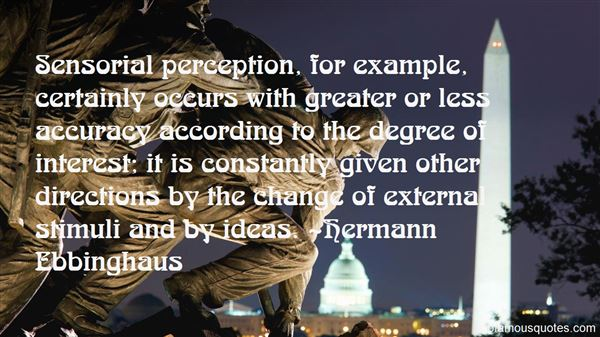 Quotes About Stimuli