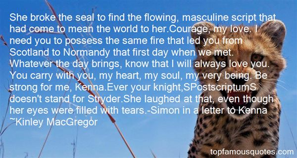 Quotes About Stryder