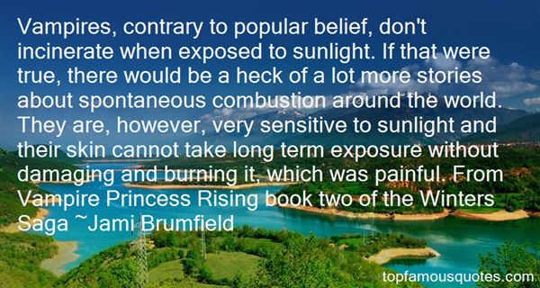 Quotes About Sun Exposure