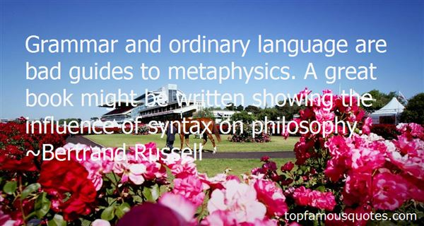 Quotes About Syntax