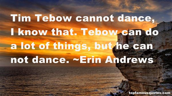 Quotes About Tebow