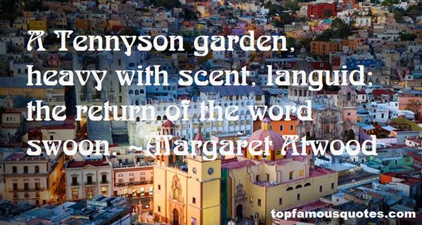 Quotes About Tennyson