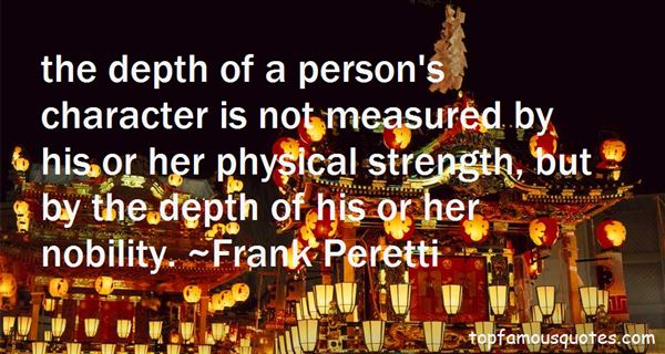 Quotes About The Depth Of A Person