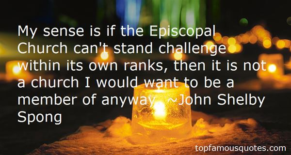 Quotes About The Episcopal Church
