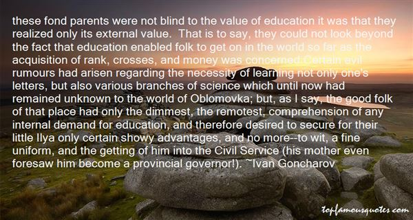 Quotes About The Necessity Of Education