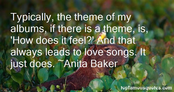 Quotes About Theme Songs