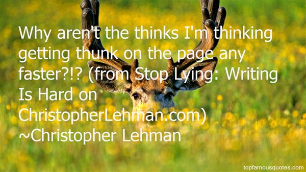 Quotes About Thinks