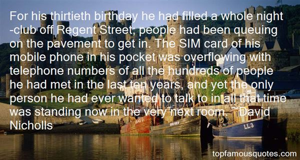 Quotes About Thirtieth Birthday