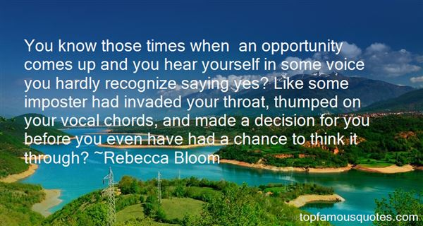 Quotes About Thumped