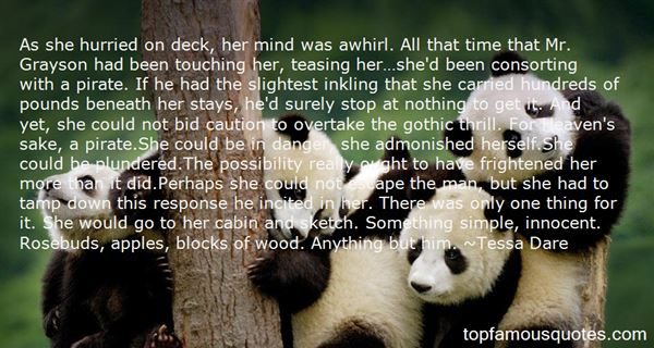 Quotes About Touching