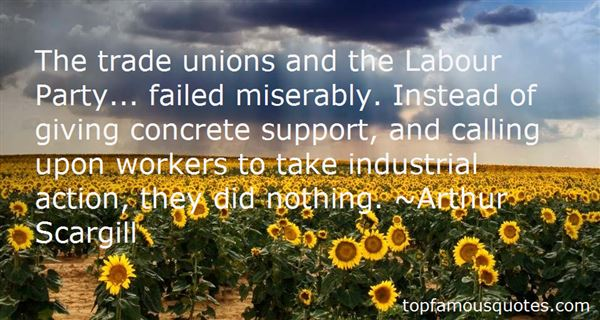Quotes About Trade Unions