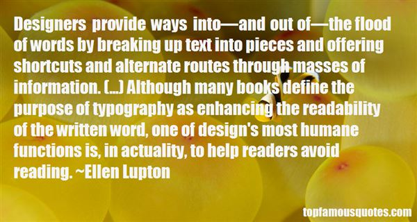 Quotes About Typography Design
