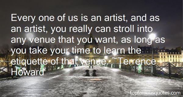 Quotes About Venue