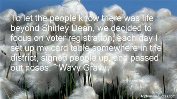 Quotes About Voter Registration