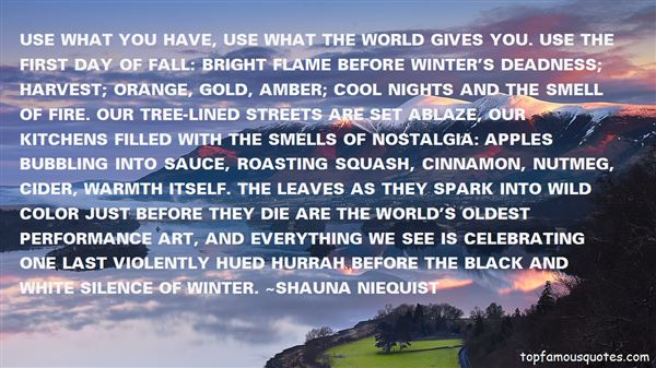 Quotes About Warmth In Winter