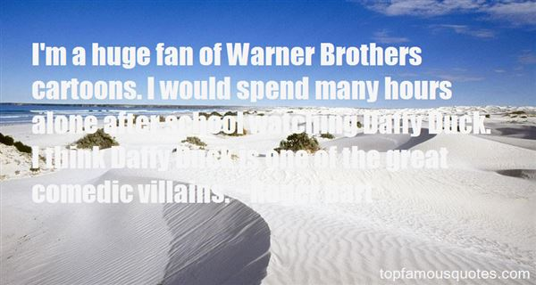 Quotes About Warner Brothers