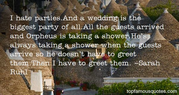 Quotes About Wedding Guests