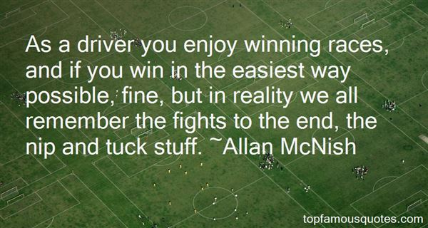 Quotes About Winning Races