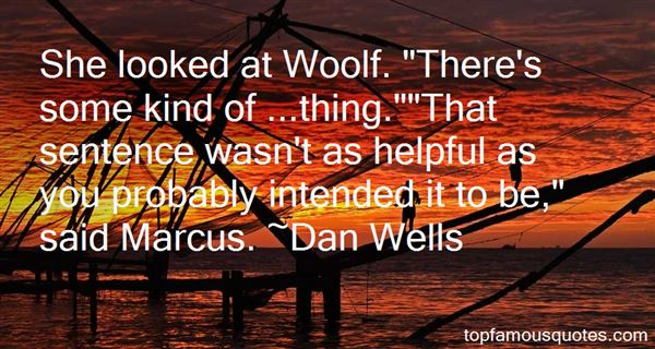 Quotes About Woolf