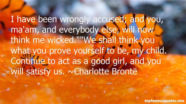 Quotes About Wrongly Accused