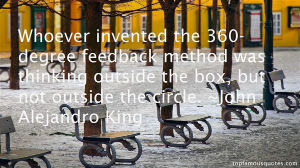 Quotes About 360 Degree Feedback
