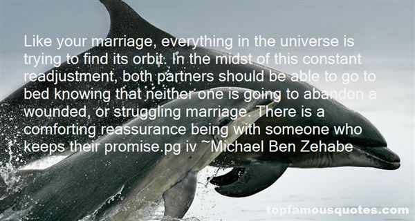 Quotes About Adjustment In Marriage
